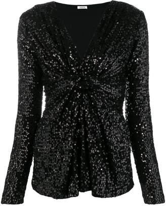P.A.R.O.S.H. sequin party blouse