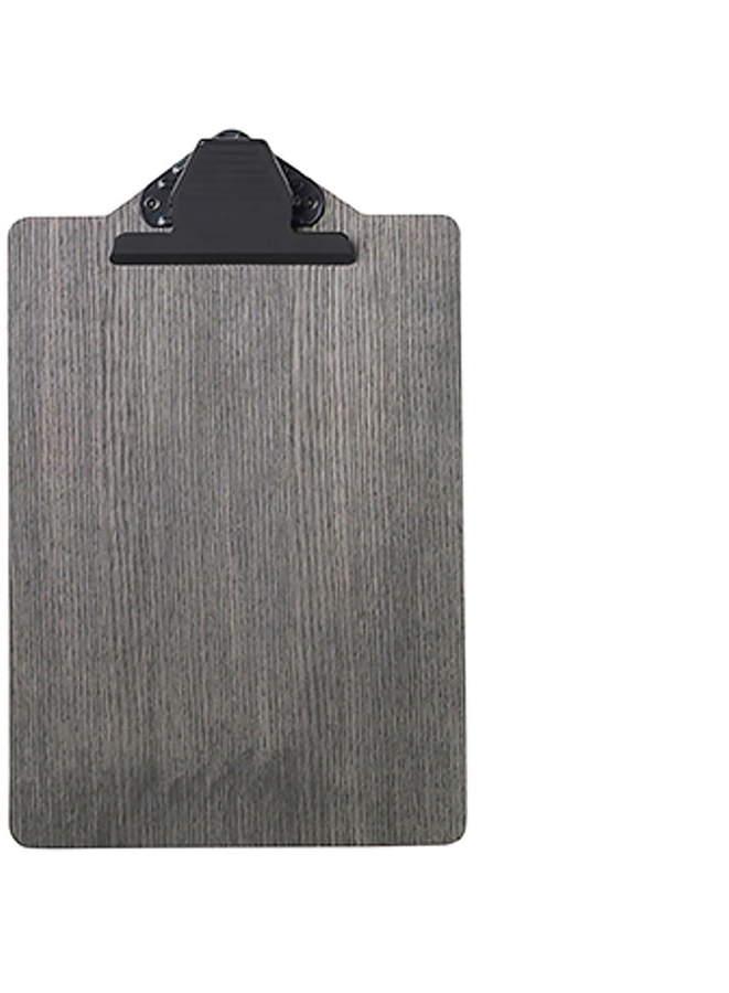 ferm living - Clipboard A4, schwarz gebeizt