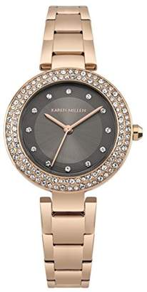 Karen Millen Women's Quartz Stainless Steel Casual Watch
