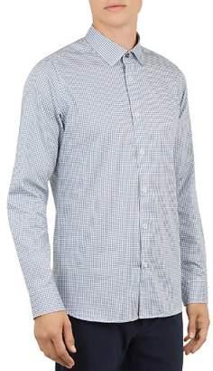 Ted Baker Jenkins Geometric Print Regular Fit Button-Down Shirt
