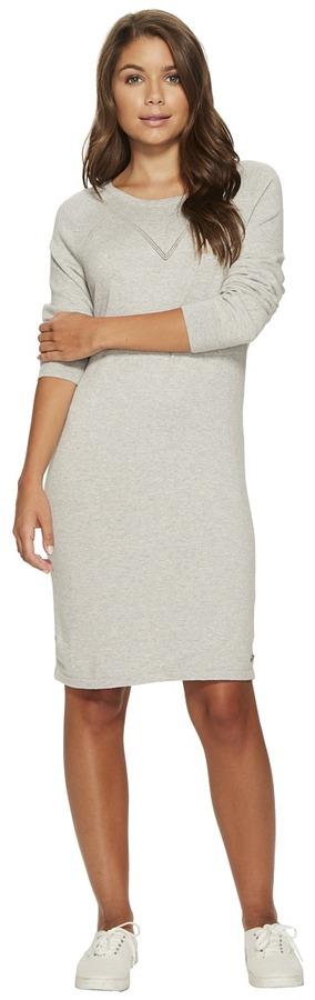Roxy - Winter Story Long Sleeve Button Back Dress Women's Dress