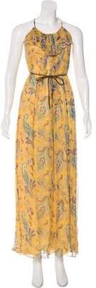 Tibi Abstract Print Maxi Dress