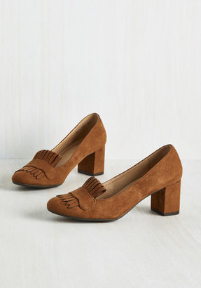 CL by Chinese Laundry Action-Minded Professor Heel in Cognac $54.99 thestylecure.com