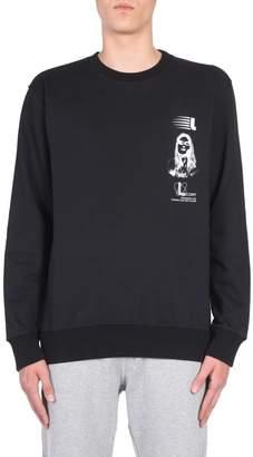 Lanvin Sweatshirt With Symbol Branding Print