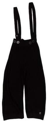 Sonia Rykiel Girls' Wool Overalls