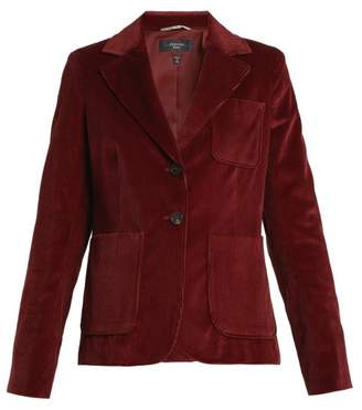Weekend Max Mara - Zigano Blazer - Womens - Burgundy