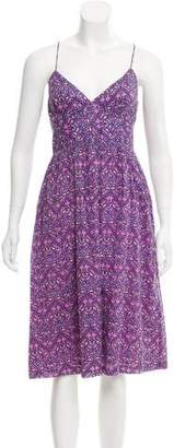 Nieves Lavi Printed Midi Dress