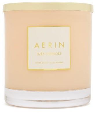 AERIN Uzes Tuberose Large Scented Candle - White