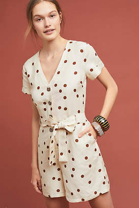 Moon River Button-Front Romper
