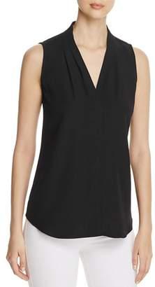 Calvin Klein V-Neck Sleeveless Blouse