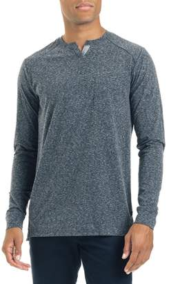 Good Man Brand Slim Fit Notched Long Sleeve T-Shirt