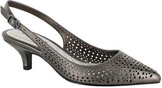 Easy Street Shoes Womens Enchant Pumps Pointed Toe Kitten Heel