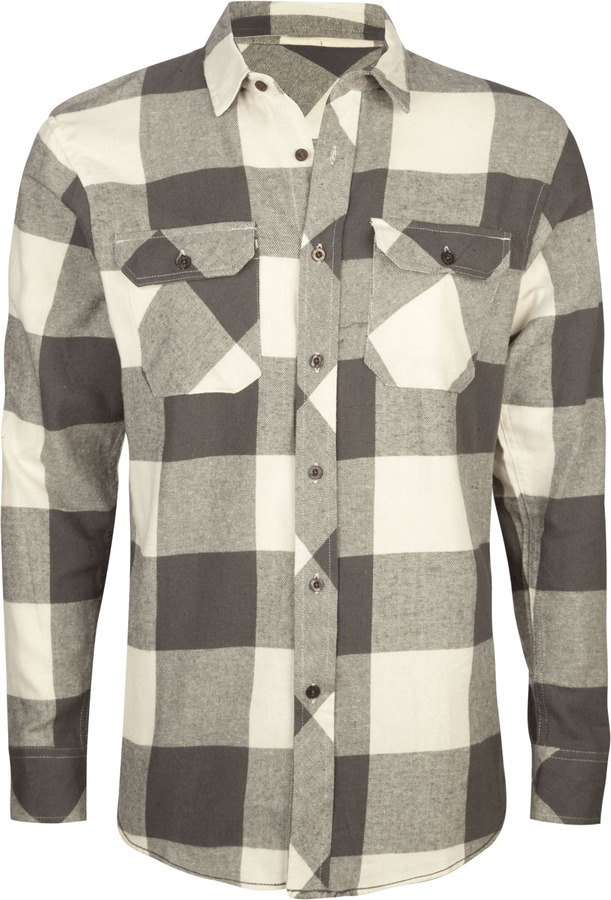Subculture Tacks Mens Flannel Shirt