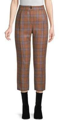 Beatrice. B Plaid Ankle Trousers