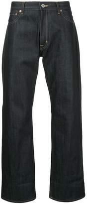 Junya Watanabe patch detail jeans