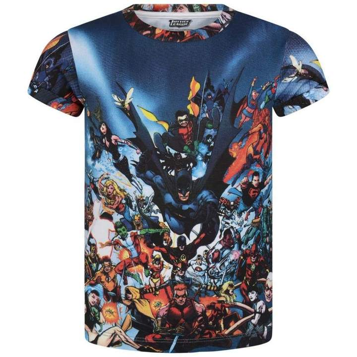 Little Eleven ParisMulti-Coloured Justice League Top