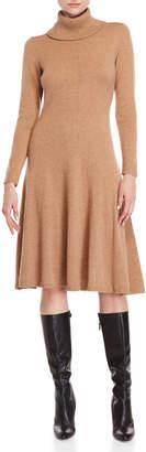 Lafayette 148 New York Fit & Flare Cashmere Sweater Dress
