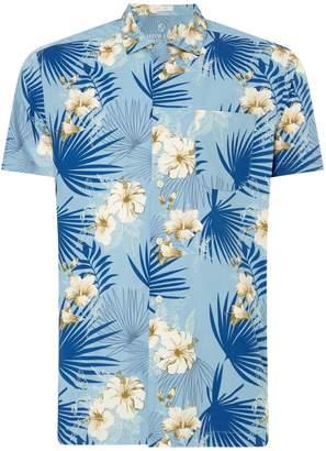 Howick Men's Pacific Print Short Sleeve Shirt