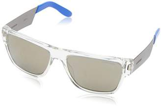 Carrera 5014/S Rectangular Sunglasses, CRYS MTRT