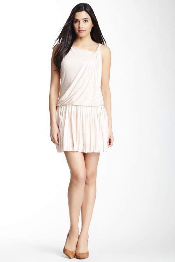 Jessica Simpson Asymmetrical One Shoulder Dress