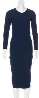 Nadia Tarr Rib Knit Midi Dress