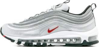 Nike 97 QS (GS) Metallic Silver/Varsity Red