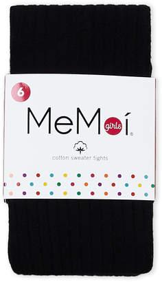 Me Moi Memoi (Girls 4-6x) Cotton Sweater Tights