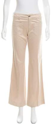 Gucci Flared Mid-Rise Pants
