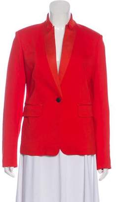Rag & Bone Collarless Long Sleeve Jacket