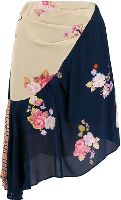 Preen Line Izzy asymmetric skirt