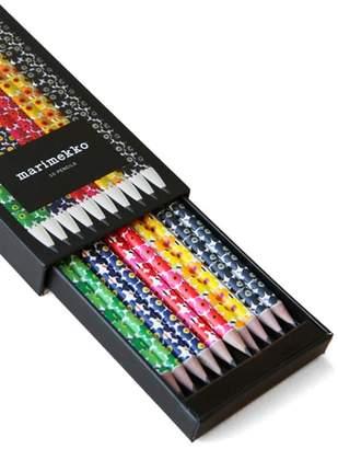 Chronicle Books 10-Pack Marimekko Pencils