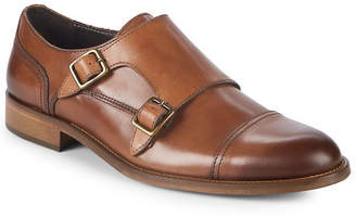 Bruno Magli Sasso Double Monk-Strap Leather Dress Shoes