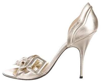 Givenchy Metallic d'Orsay Pumps