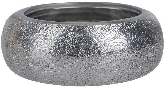 Forever 21 Floral Embossed Resin Bangle