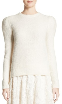 Women's Co Puff Sleeve Cashmere Blend Sweater $975 thestylecure.com