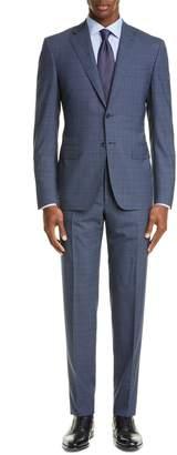 eb28b18f531 Canali Sienna Soft Classic Fit Plaid Wool Suit