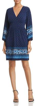 MICHAEL Michael Kors Border-Print Dress