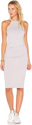 Michael Stars Halter Midi Dress in Lavender $88 thestylecure.com