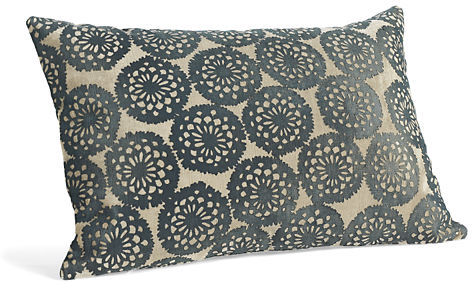 Lace Ink Pillow