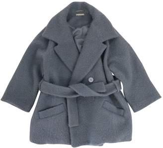 Carven Blue Wool Coats