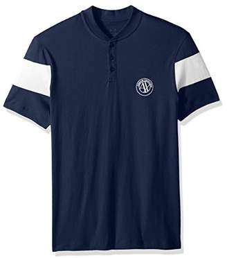 Armani Exchange A|X Men's Short Sleeve Organic Cotton Polo Shirt