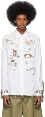Loewe White Embroideries Shirt