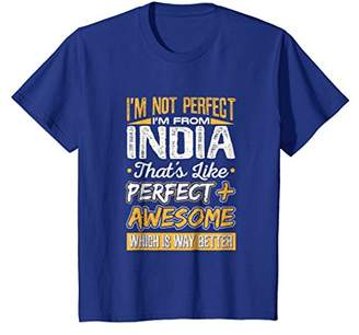 I'm from India Perfect Plus Awesome Proud Indian T-Shirt