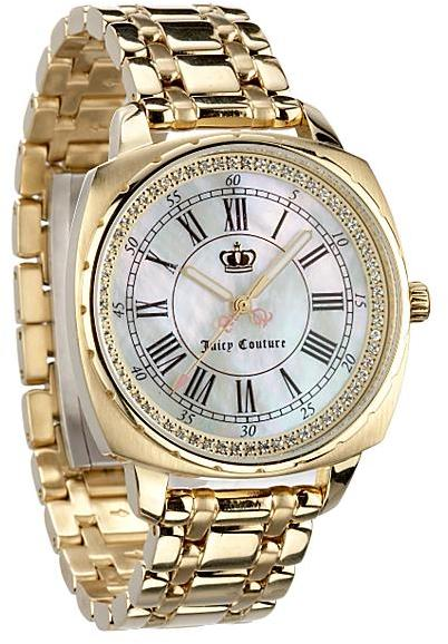 Juicy Couture Beau Watch, Gold