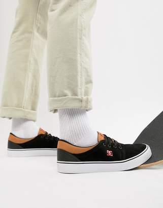 DC Trase SD Sneaker in Black & Red