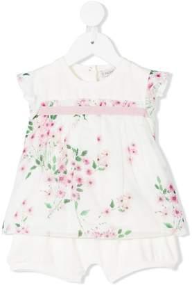 Moncler floral tunic set