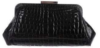 Tiffany & Co. Crocodile Morgan Clutch