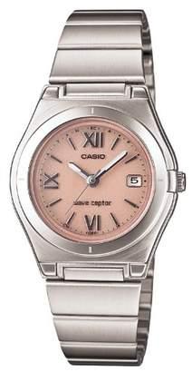 Casio (カシオ) - [カシオ]CASIO 腕時計 WAVE CEPTOR ウェーブセプター タフソーラー 電波時計 LWQ-10DJ-4A1JF レディース