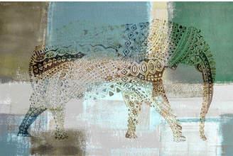 Parvez Taj Jeweled Elephant Canvas Wall Art