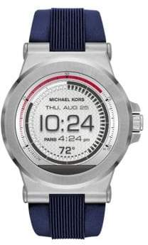 Michael Kors Dylan Stainless Steel & Silicone Strap Smartwatch